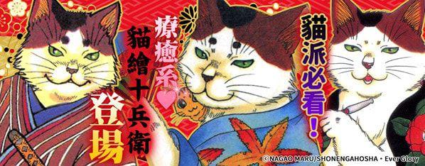 十兵衛又登場啦!這次跟他的主人又會遇到什麼樣的人貓物語呢?